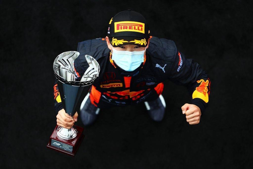 Yuki Tsunoda Silverstone Round 5