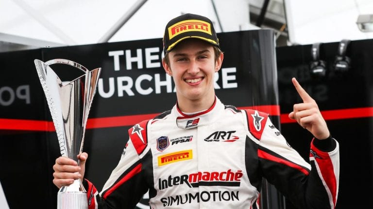 Theo Pourchaire ART Formula 3