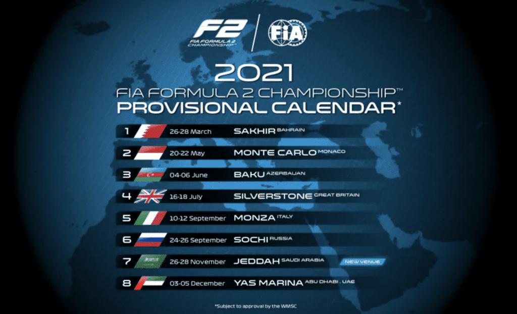 FIA Formula 2 Championship 2021 season