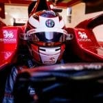 Ilott's full day behind the Alfa Romeo Racing ORLEN F1 Wheels