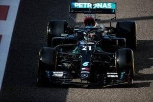 Mercedes F1 Abu Dhabi 2020 post season test
