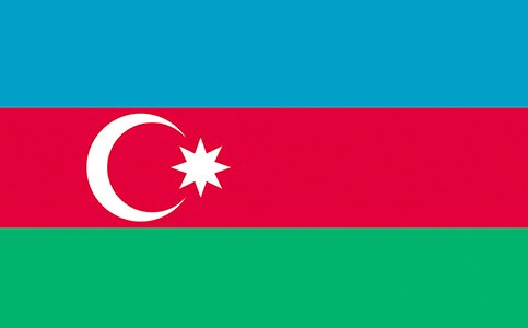 2021 FLAG - AZERBAIJAN