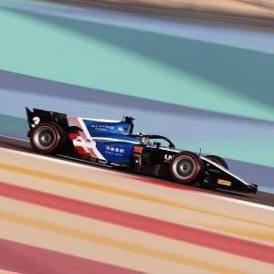Zhou Bahrain Qualifying
