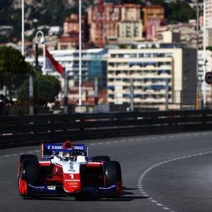 Shwartzman F2 Monaco Practice