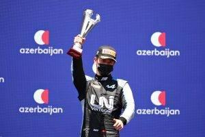 Zhou Baku Sprint Race 1